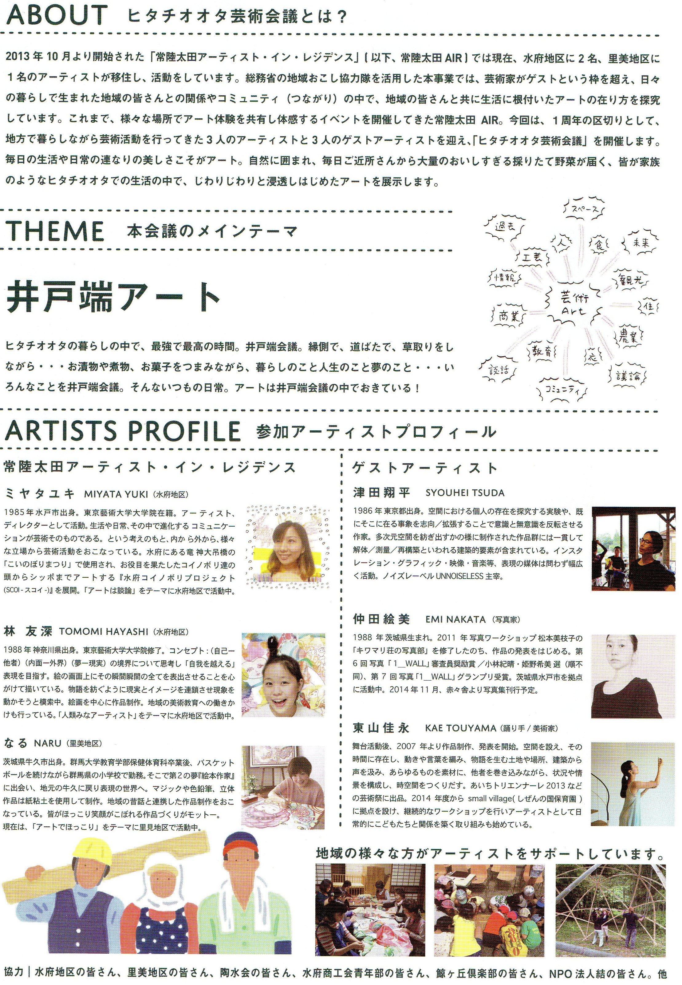 藤田けんじ Official Site井戸端アート…!