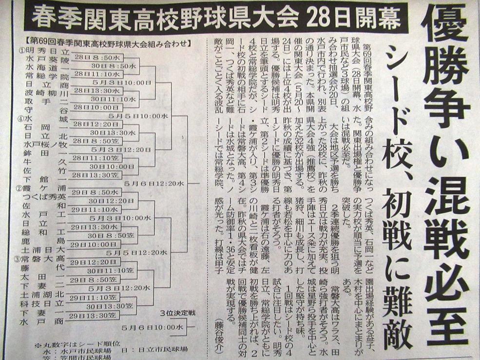 野球 大会 茨城 県 高校